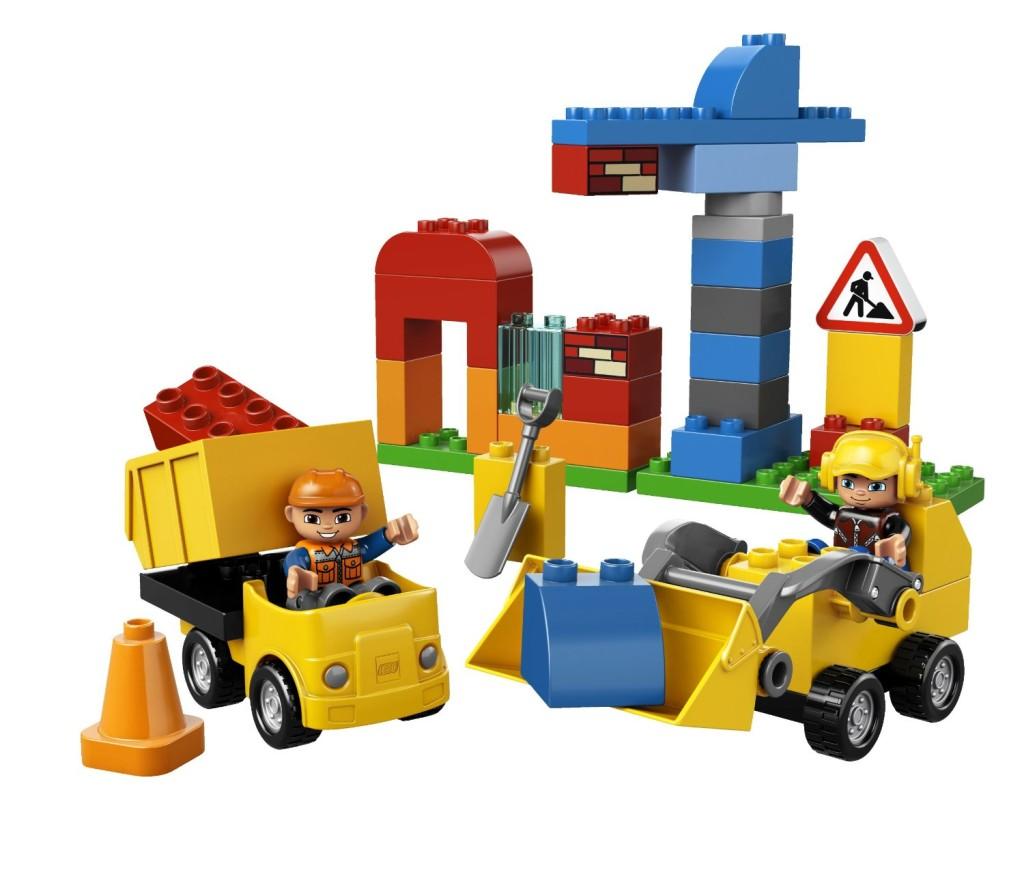 LEGO Construction Site Down