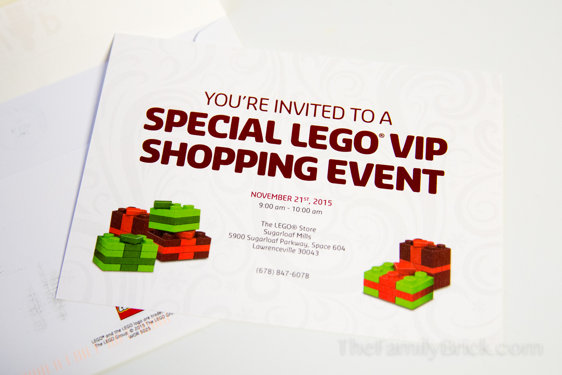 LEGO VIP Shopping Event 2015