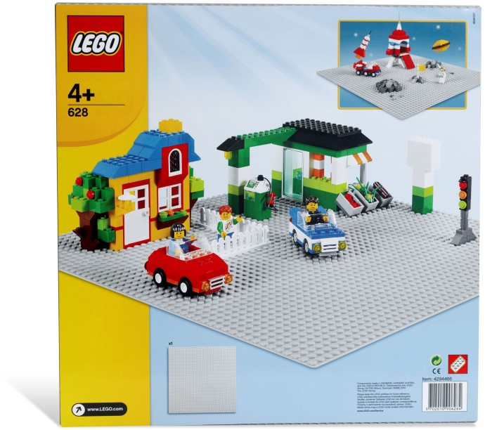 Lego Building Plate Grey