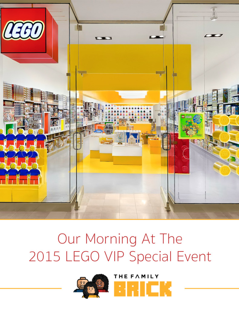 Our Morning at the 2015 LEGO Special Event