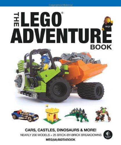 The LEGO Adventure Book, Vol 1 Cover