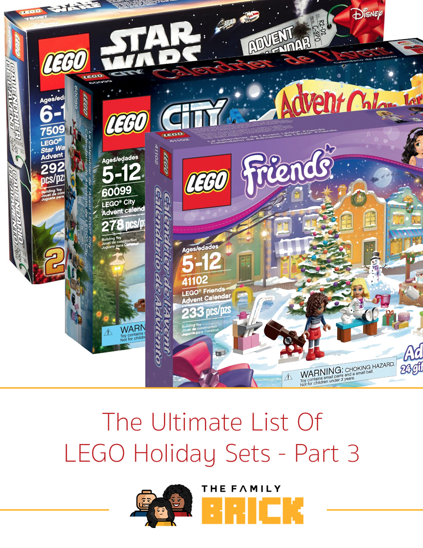The Ultimate List of LEGO Holiday Sets - Part 3 - The Family Brick