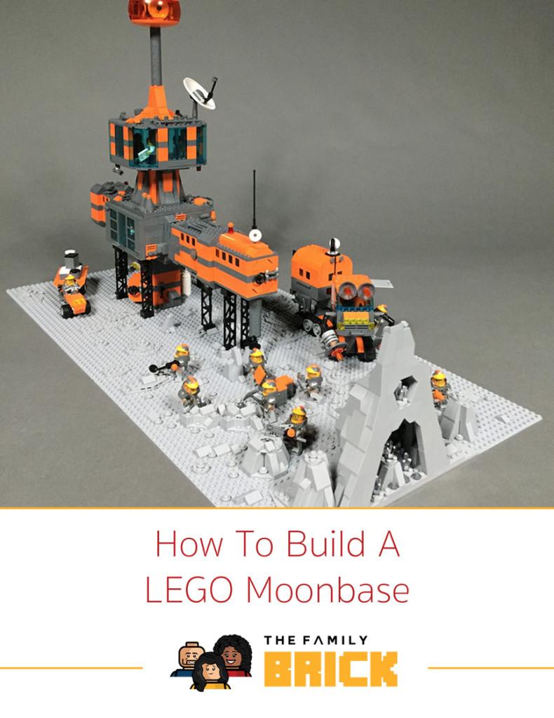 How To Build kA LEGO Moonbase