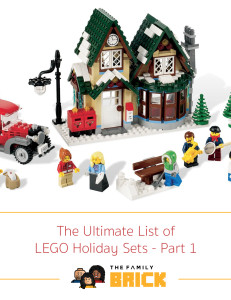 The Ultimate List of LEGO Holiday Sets - Part 1