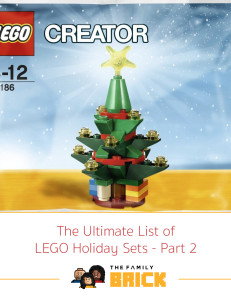 The Ultimate List of Holiday LEGO Sets - Part 2