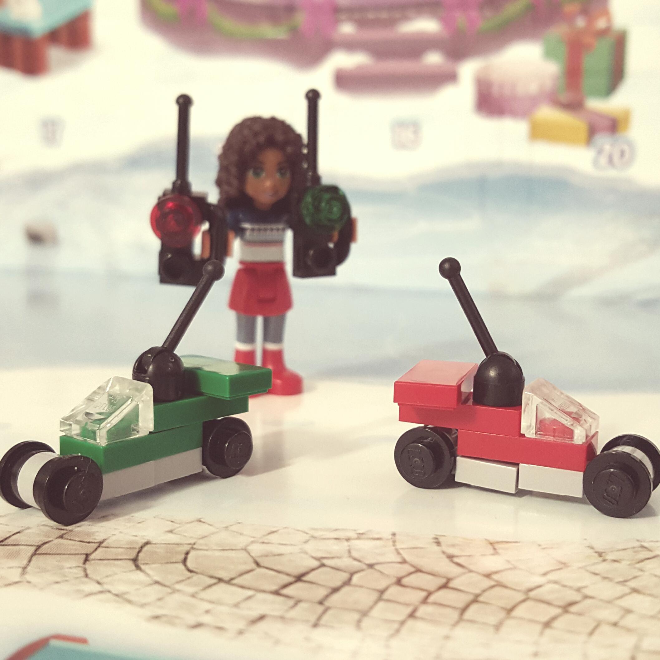 LEGO City Advent Calendar - Day 1 - Remote Control Cars