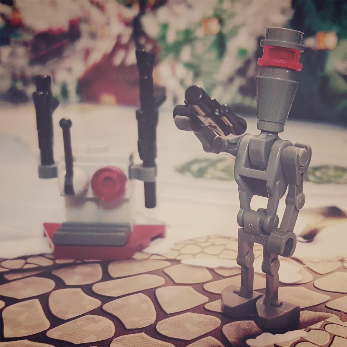 Day 13 Battle Droid LEGO Star Wars Advent Calendar