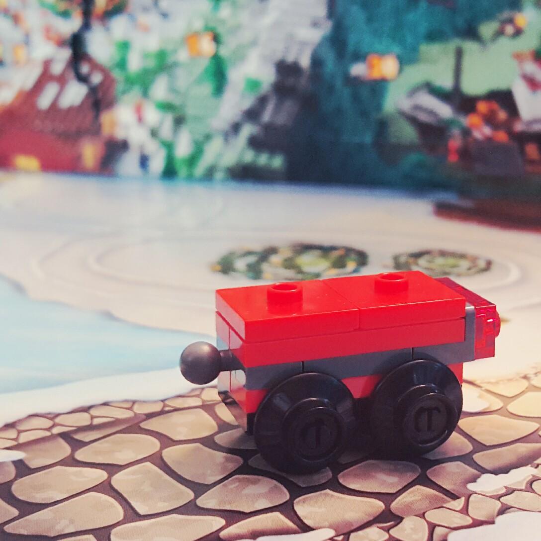 Day 15 Cargo Car from LEGO City Advent Calendar