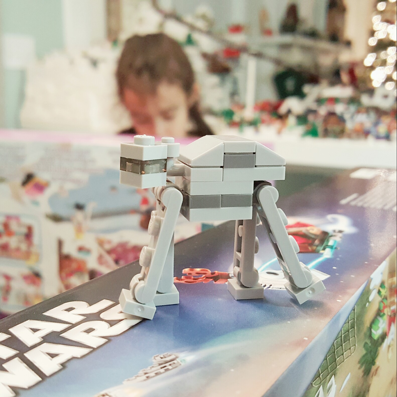 Day 18 AT-AT from LEGO Star Wars Advent Calendar