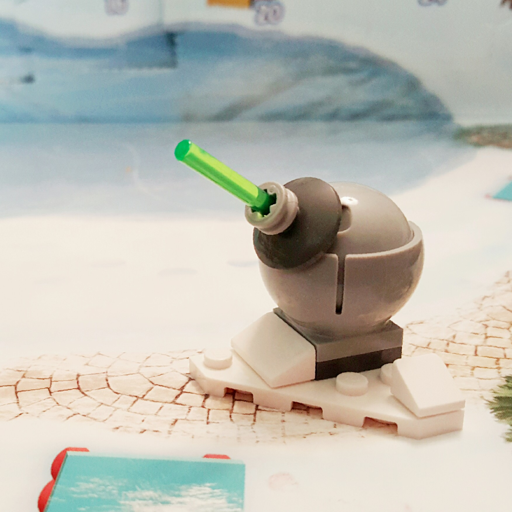 Day 19 Hoth Turret from LEGO Star Wars Advent Calendar