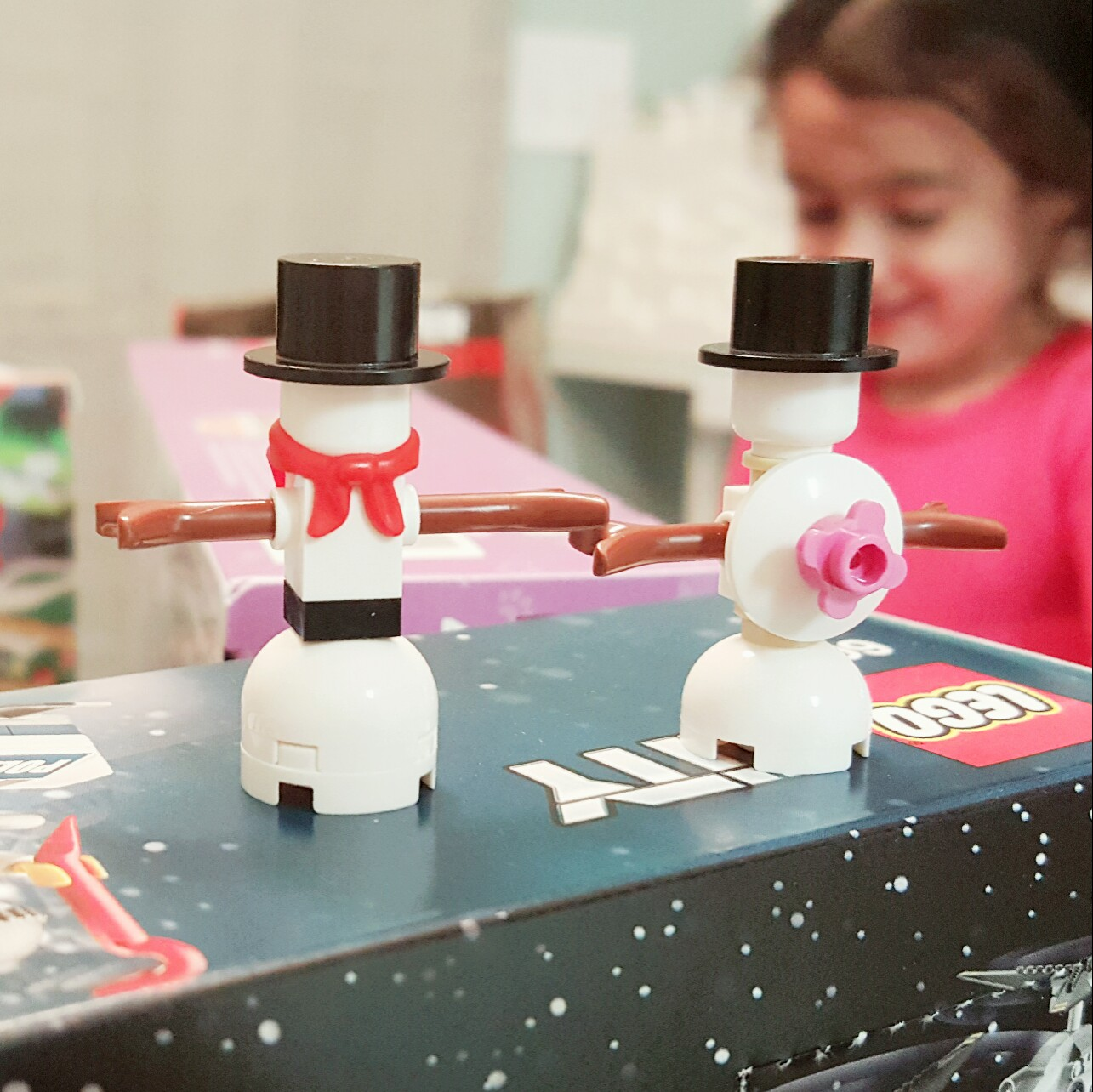 """""""Baby, it's cold outside..."""" - Day 20 Snowman from LEGO City Advent Calendar"""