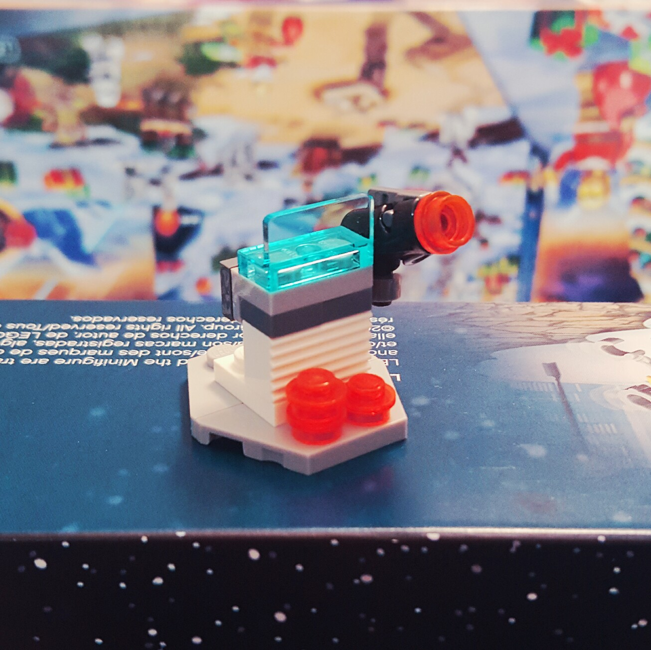 Day 21 Hoth Stud Shooter from LEGO Star Wars Advent Calendar