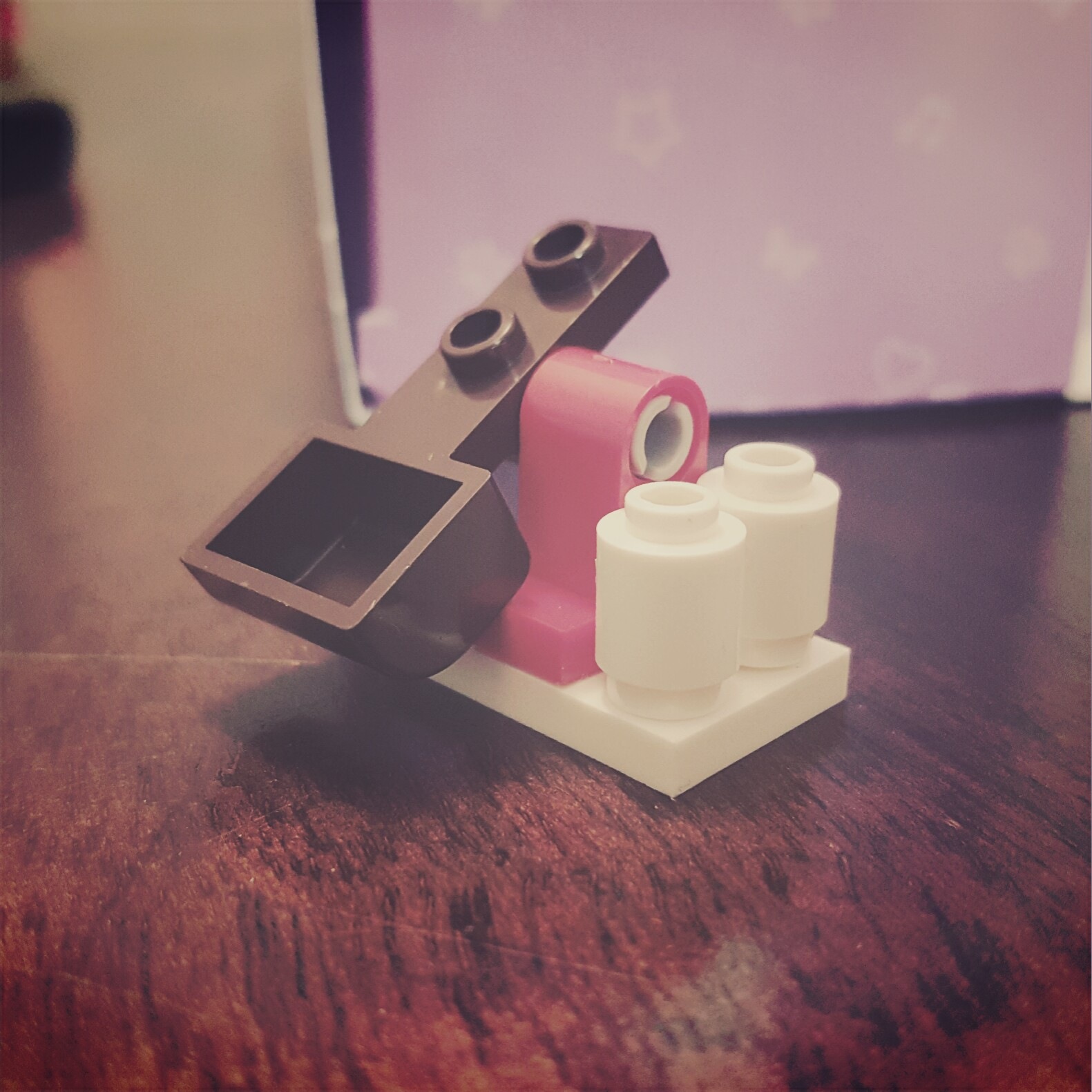 """""""Watch where you shoot that thing!"""" - Day 21 Snowball Launcher from LEGO Friends Advent Calendar"""