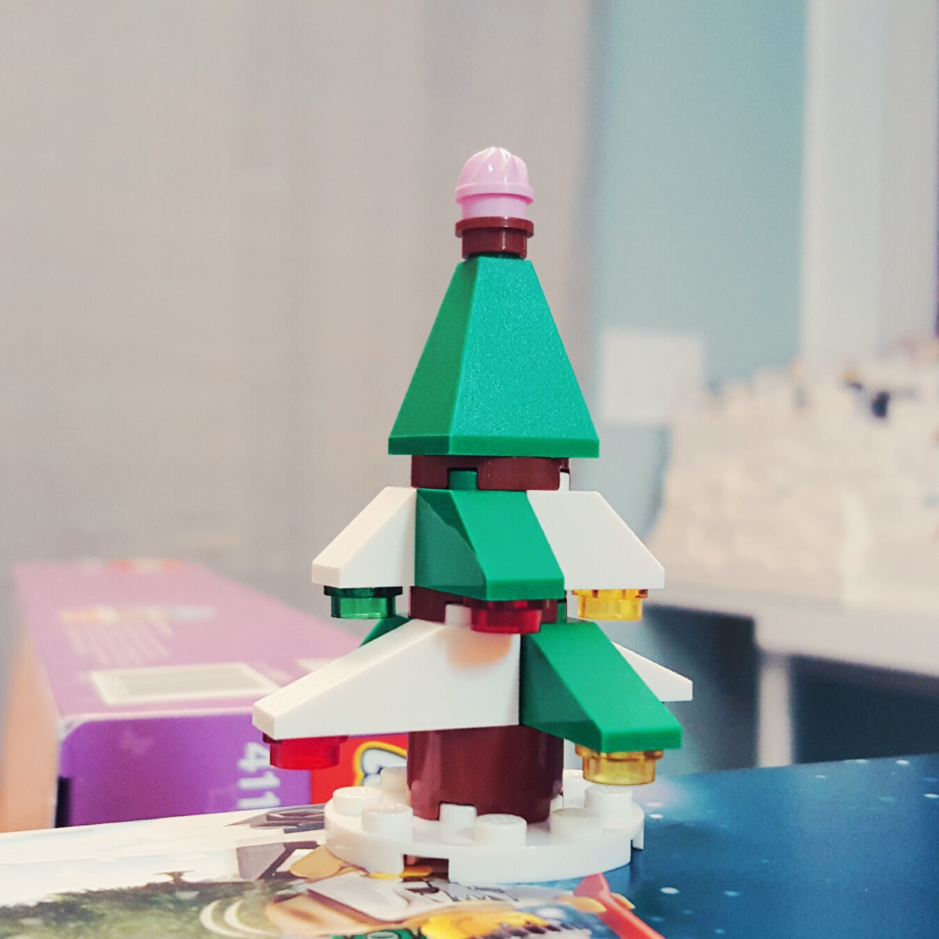 Day 23 Christmas Tree from LEGO Friends Advent Calendar
