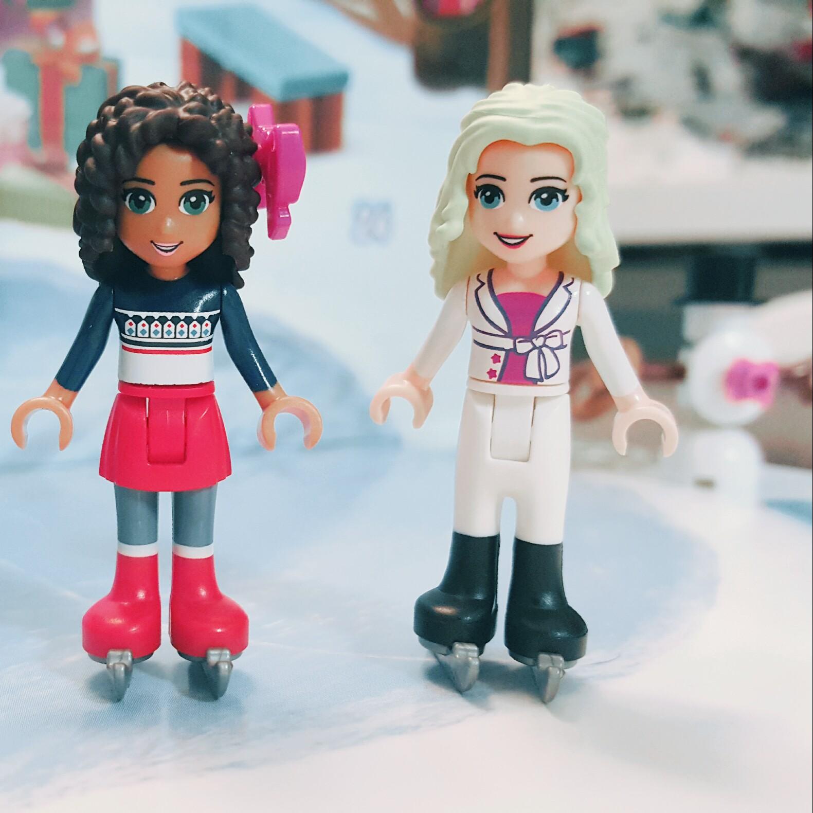 """Wanna skate?"" - Day 5 Liza Minifigure from LEGO Friends Advent Calendar"