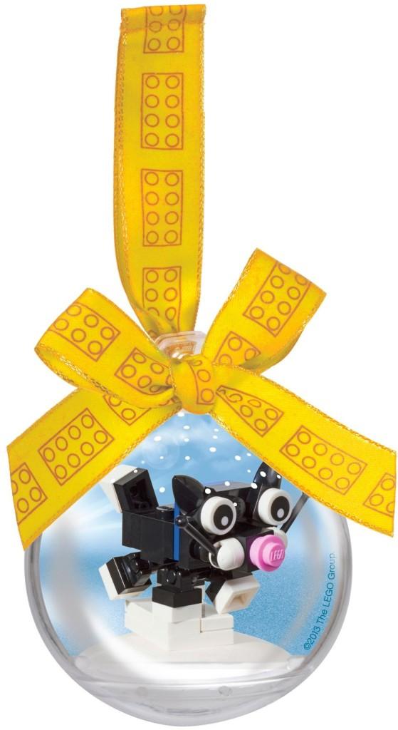 LEGO 850950-1- Christmas Cat Ornament