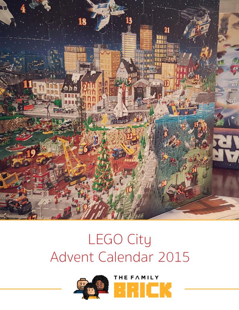 LEGO City Advent Calendar - 2015 LEGO Advent Calendars