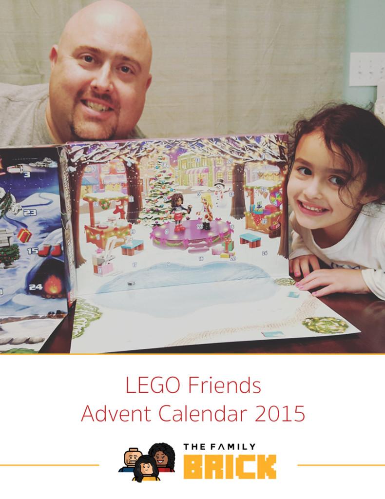 LEGO Friends Advent Calendar - 2015 LEGO Advent Calendars