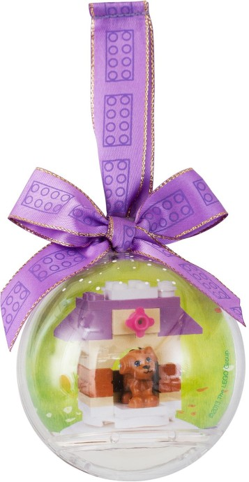 LEGO Friends Doghouse Holiday Bauble 850849