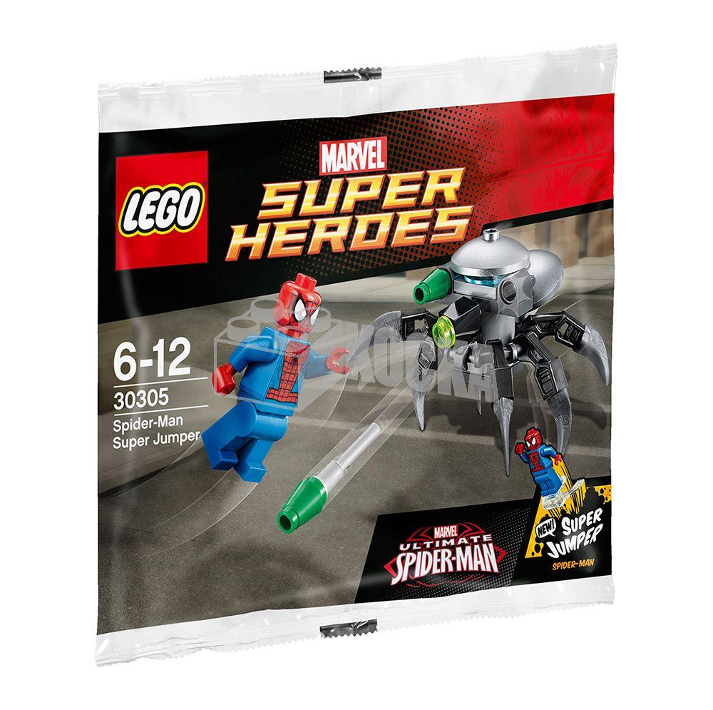 LEGO Marvel Super Heroes Ultimate Spider Man Super Jumper Polybag Set 30305