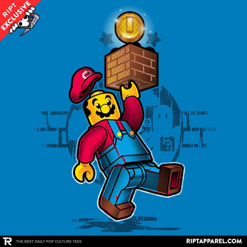 LEGO Super Brick Bros Tshirt Today on RIPT Apparel