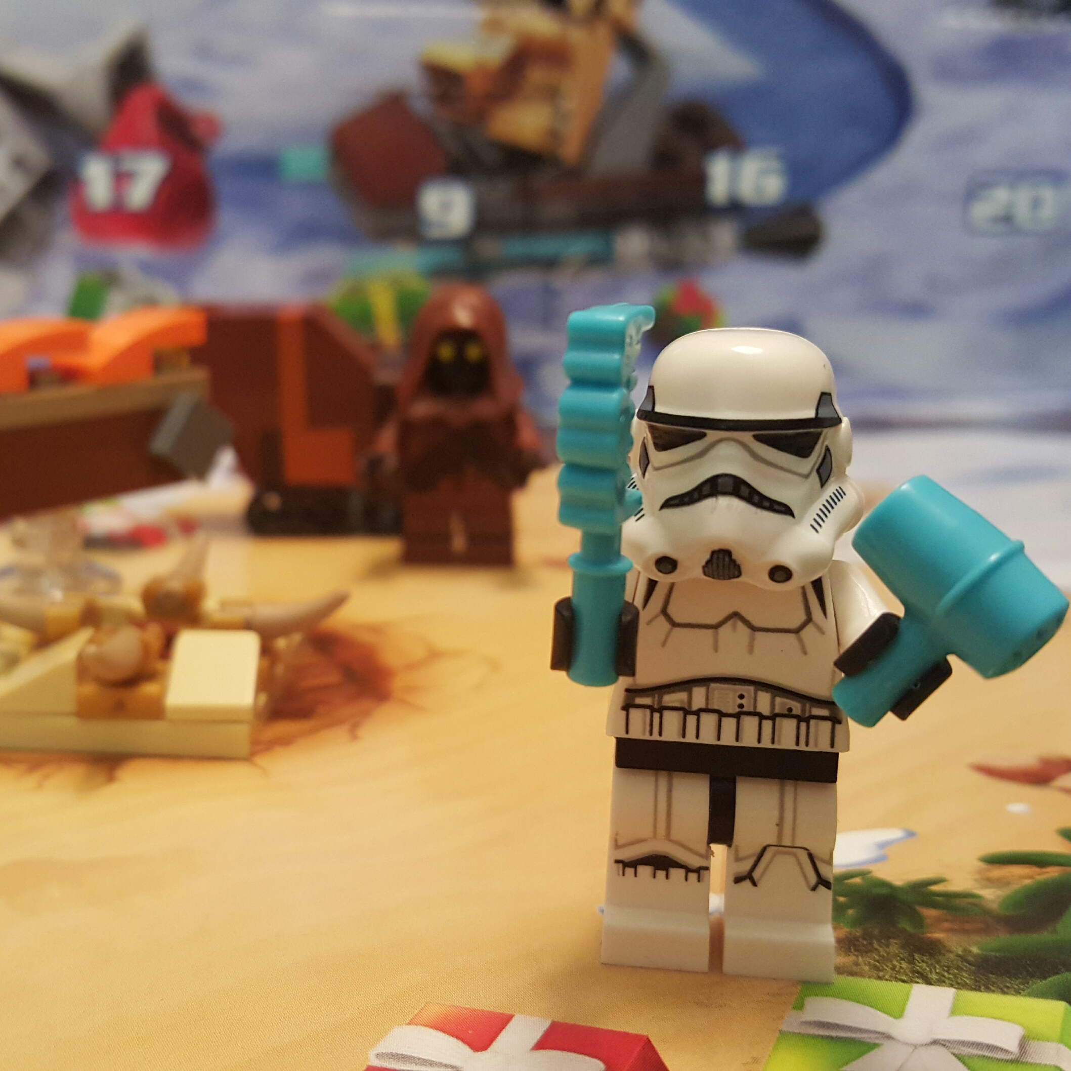 Day 10 Stormtrooper from LEGO Star Wars Advent Calendar
