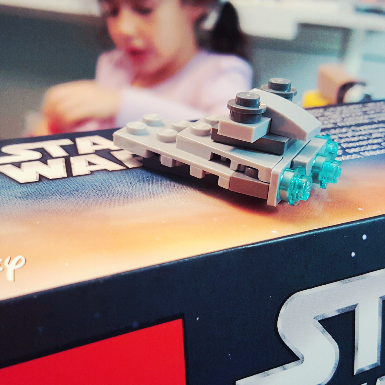 Day 11 Imperial Star Destoryer from LEGO Star Wars Advent Calendar