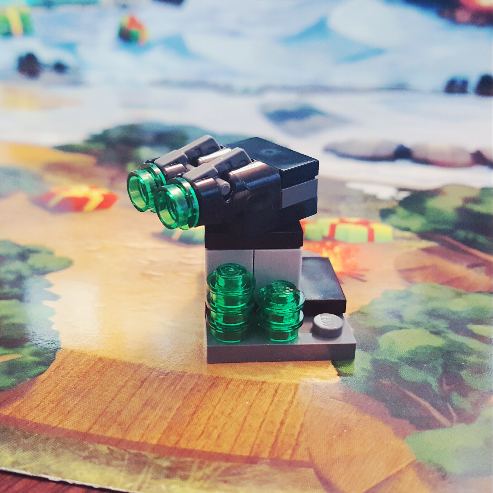 """Pew! Pew!"" - Shooting Turret from Day 15 LEGO Star Wars Advent Calendar"
