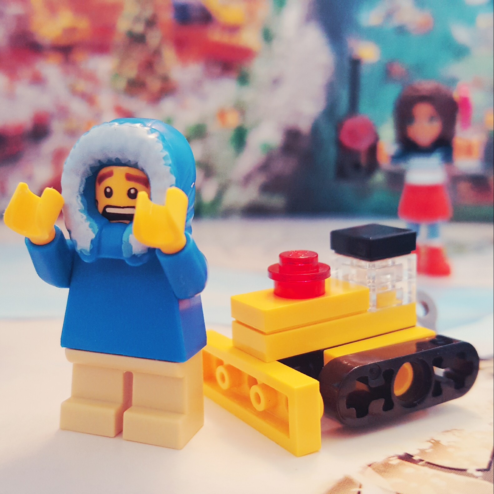 Day 6 Bulldozer from LEGO City Advent Calendar