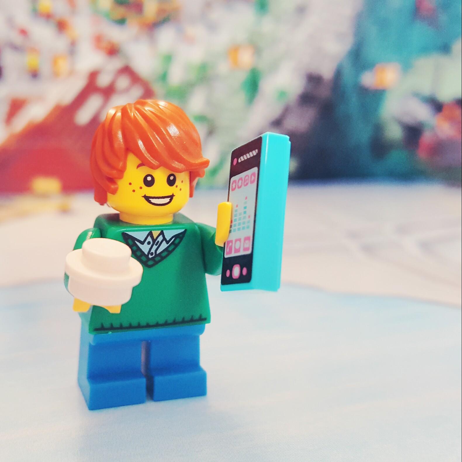 Day 7 Minifigure LEGO City Advent Calendar