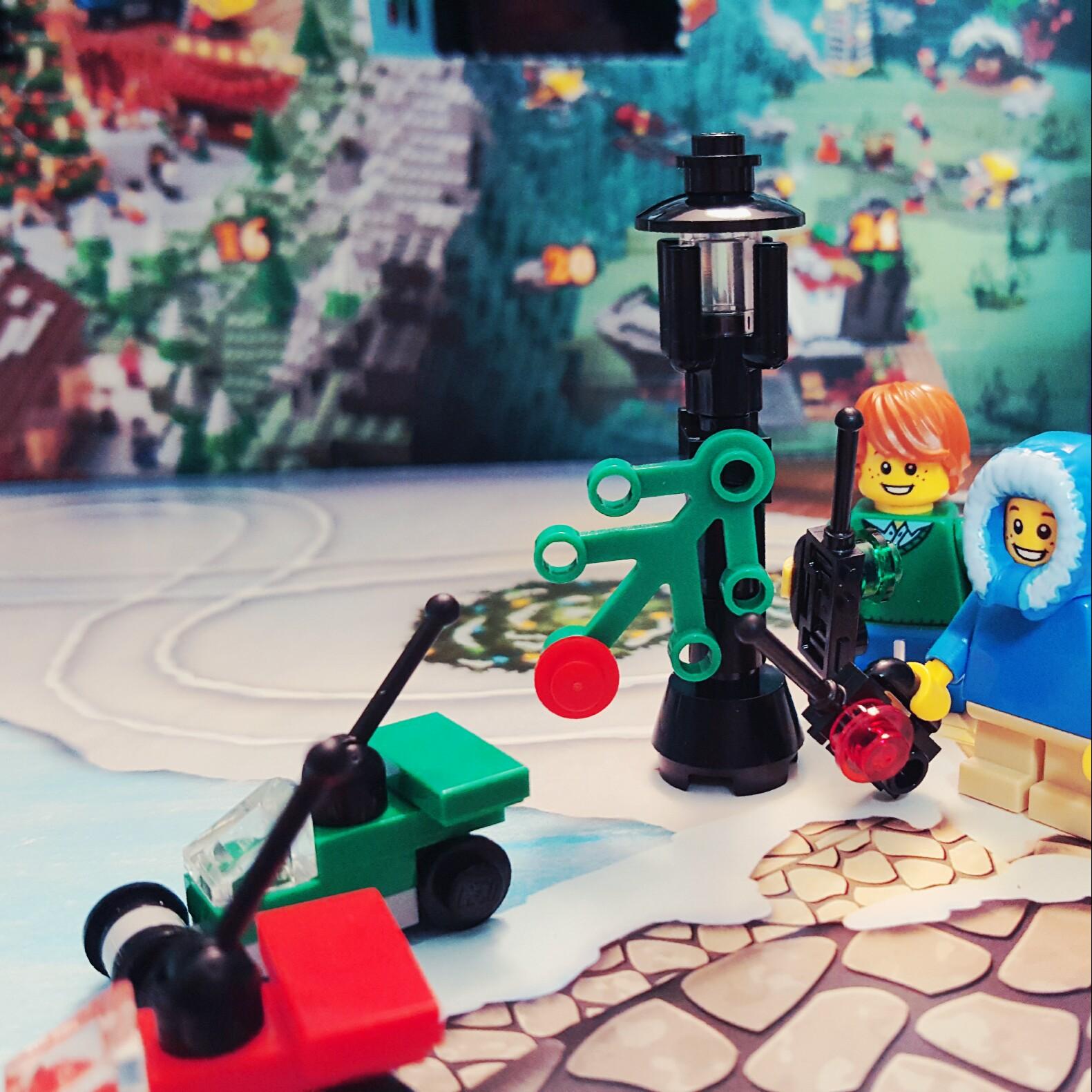 day 8 lego city advent calendar