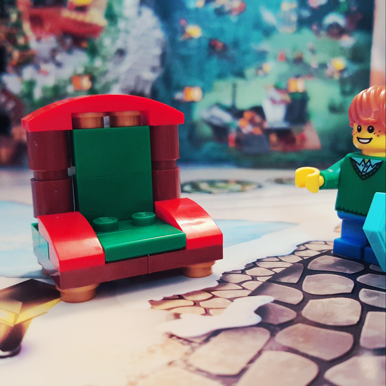 """Santa's Coming!"" - Day 9 of LEGO City Advent Calendar"