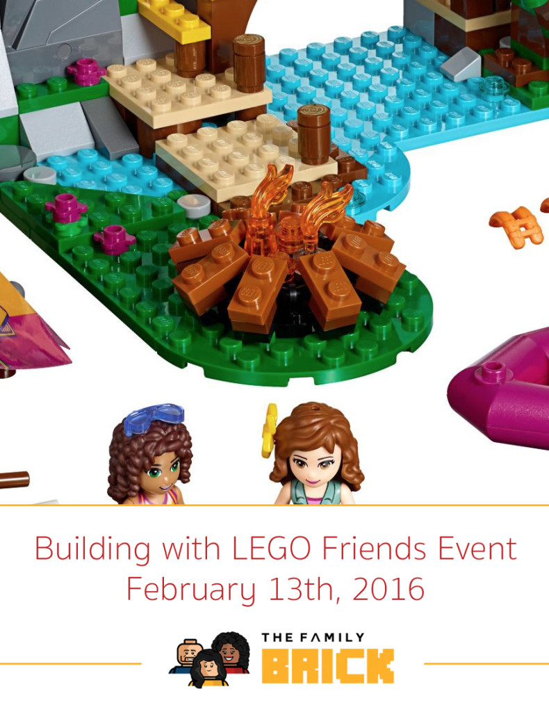 Building with LEGO Friends Event February 13th
