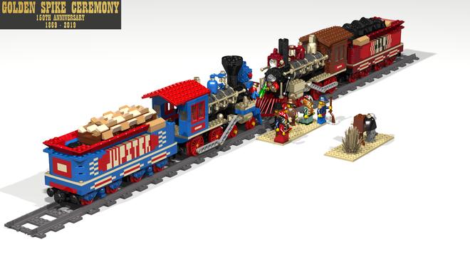 LEGO Ideas Golden Spike Ceremony