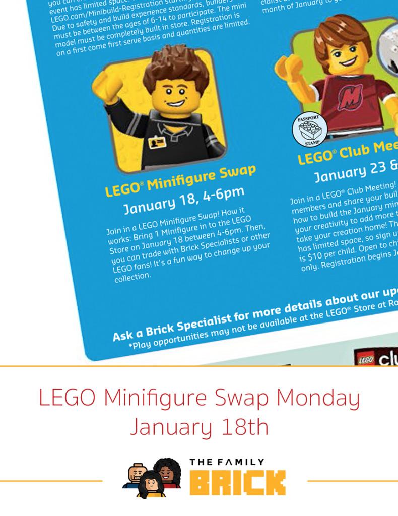 LEGO Minifigure Swap Monday - January 18th