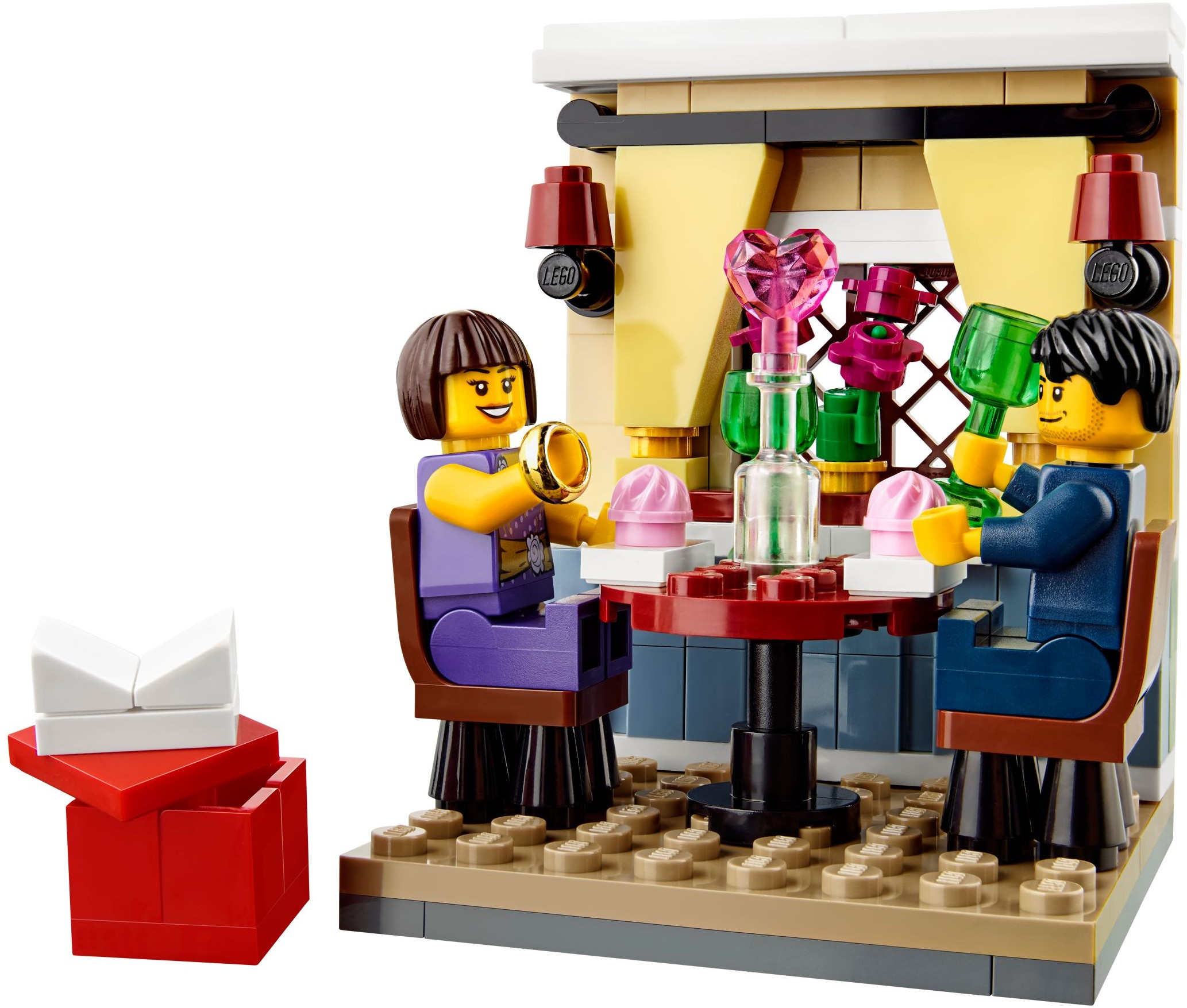the ultimate list of lego valentine 39 s day sets the family brick. Black Bedroom Furniture Sets. Home Design Ideas