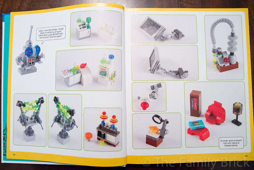 The LEGO Adventure Book Vol 1 Chapter 1 Sample Page