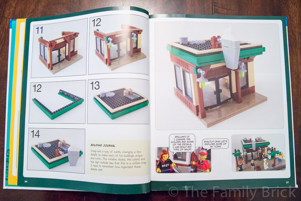 The LEGO Adventure Book Vol 1 Chapter 2 Sample Page