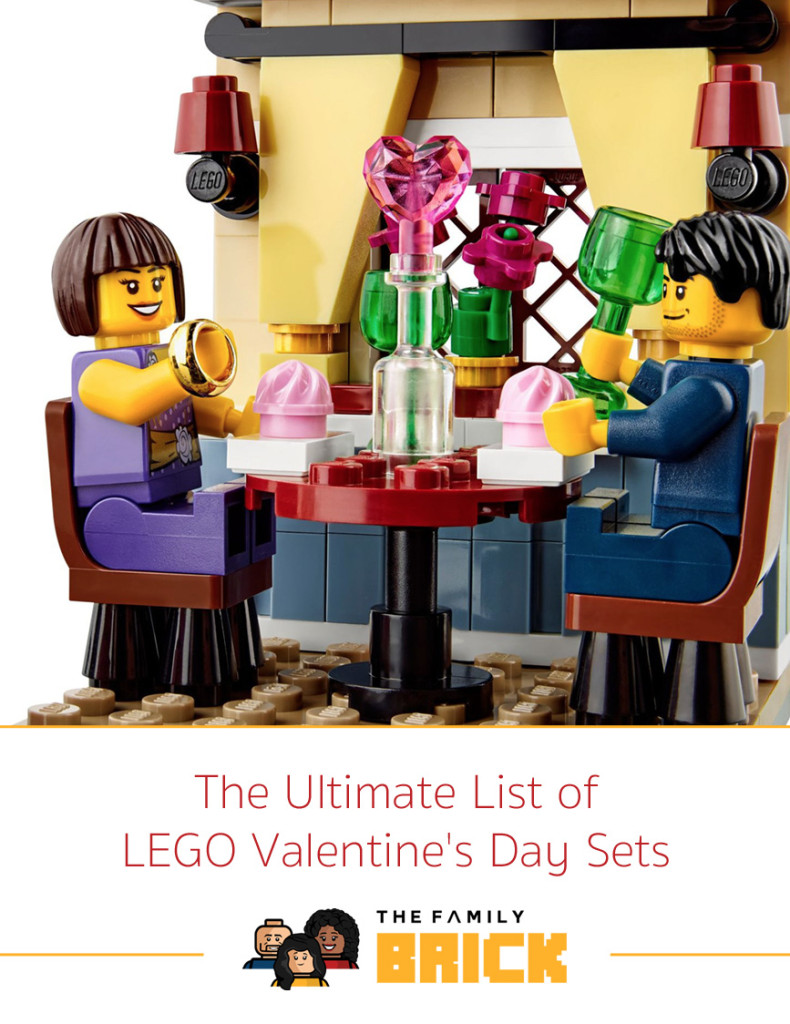 The Ultimate List of LEGO Valentine's Day Sets