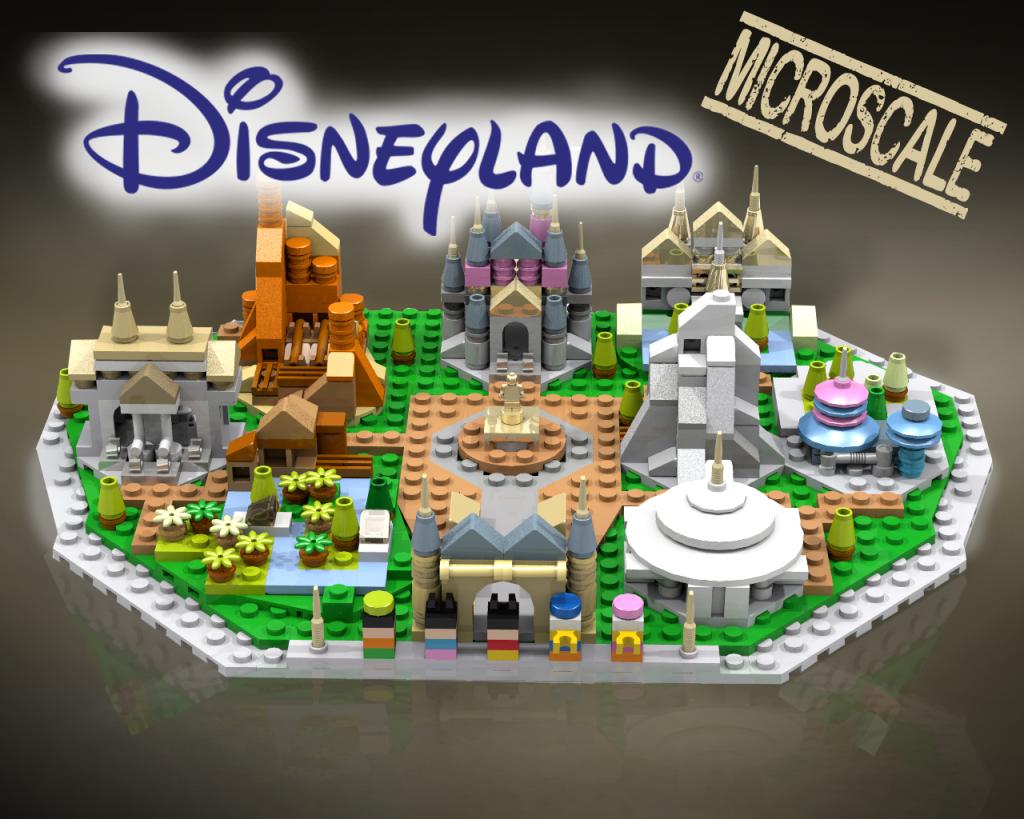 LEGO Ideas Disneyland Microscale