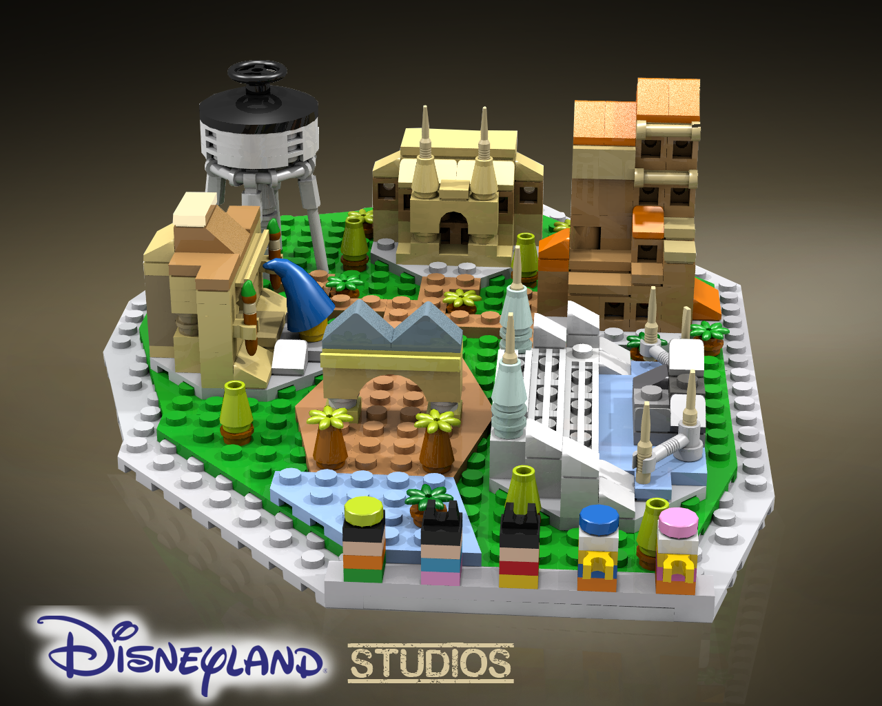 LEGO Ideas Disneyland Microscale The Family Brick