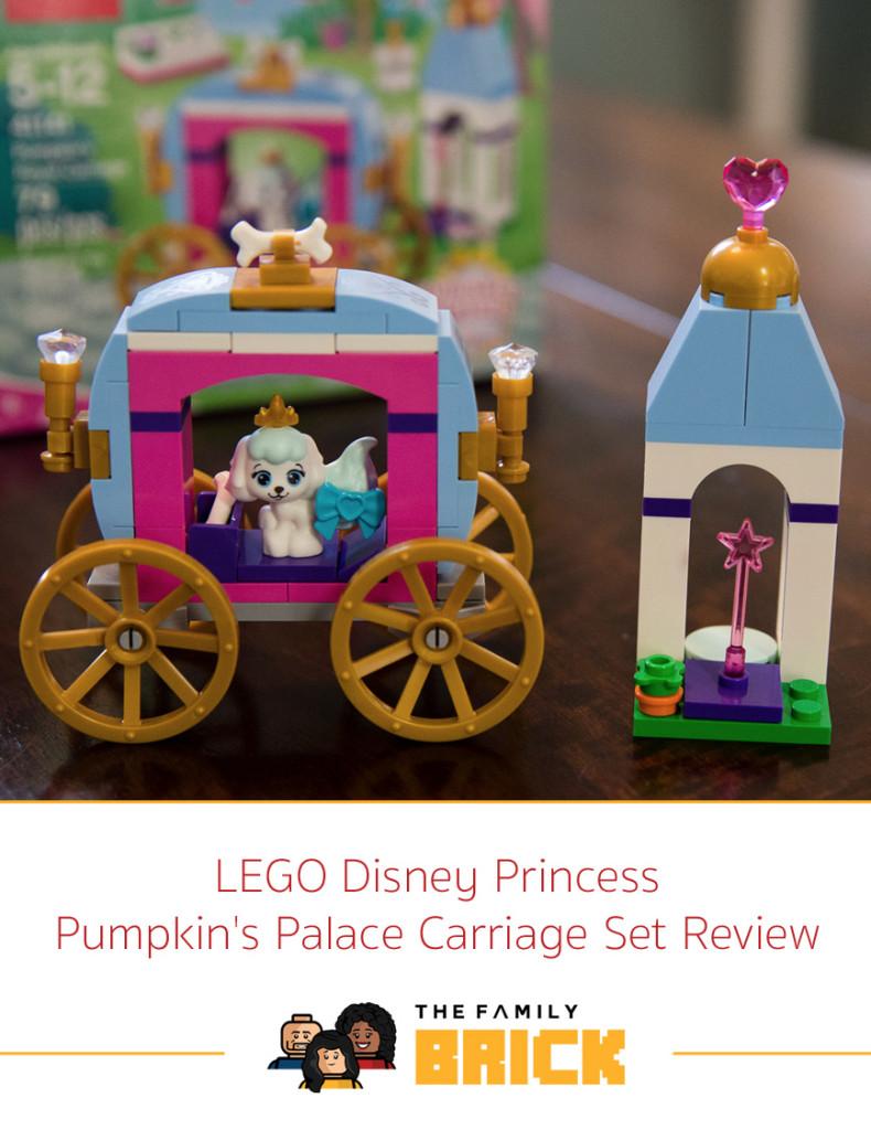 LEGO Disney Princess Pumpkin's Palace Carriage Set Review