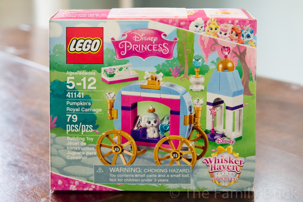 LEGO Disney Pumpkin's Royal Carriage