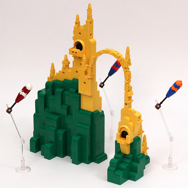 LEGO Dr. Suess Oh The Places You