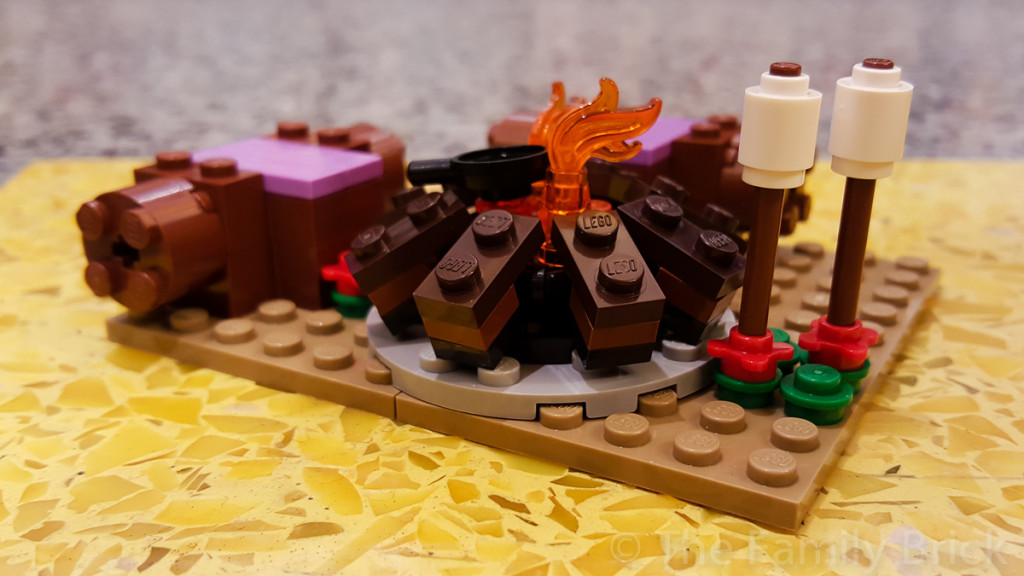 LEGO Friends Campfire Build Event