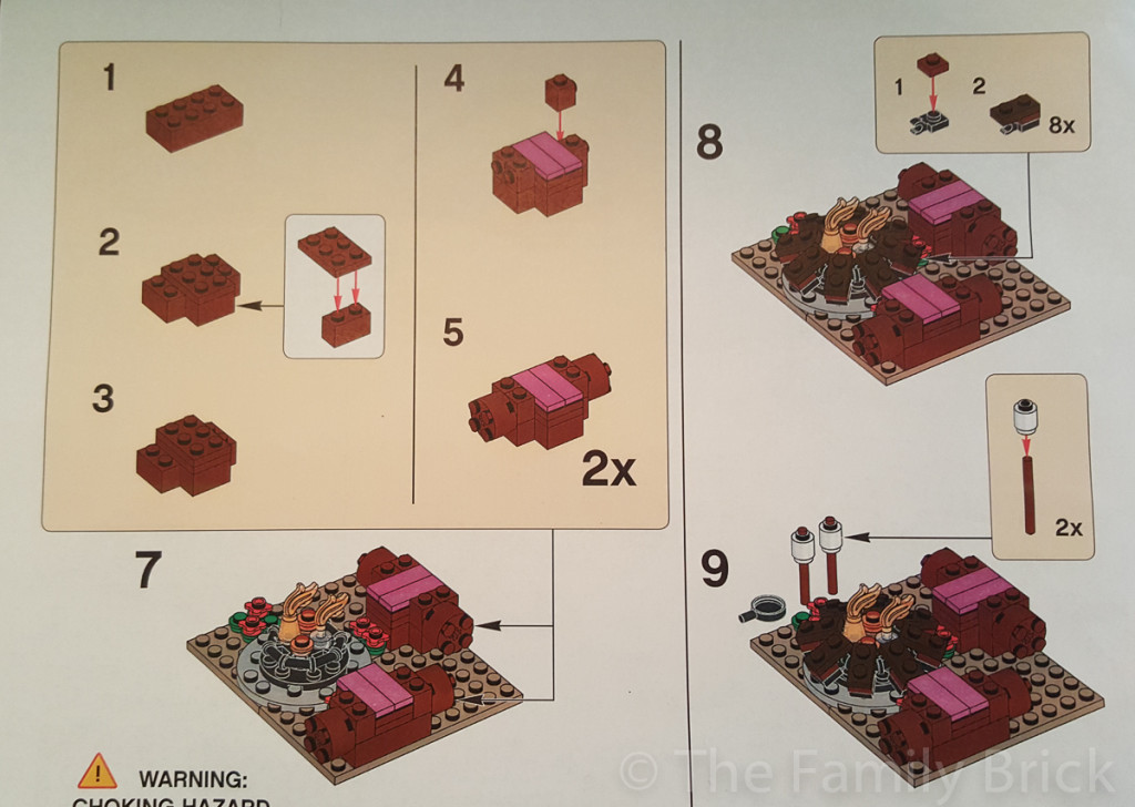 LEGO Friends Campfire Build Instructions - Part 2
