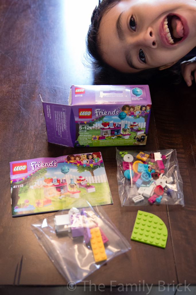 LEGO Friends Party Cakes Set 41112 Review-1633