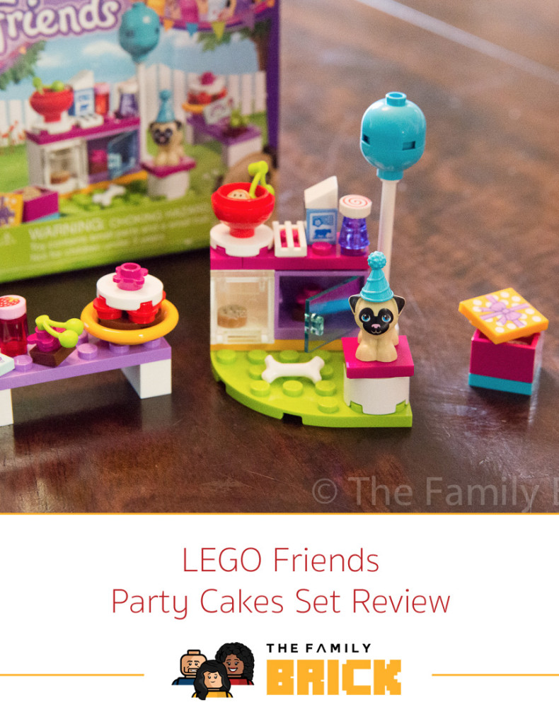 LEGO Friends Party Cakes Set Review 41112