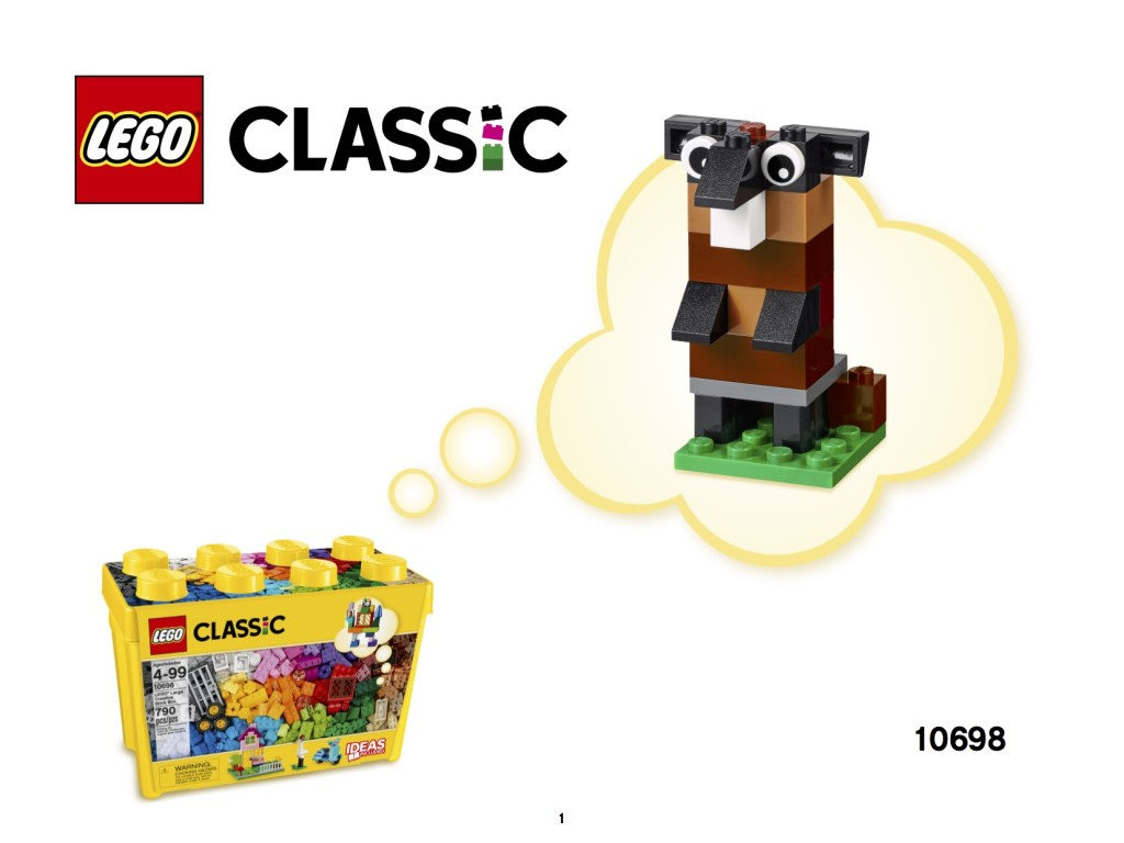 LEGO Groundhog Day Build 10698