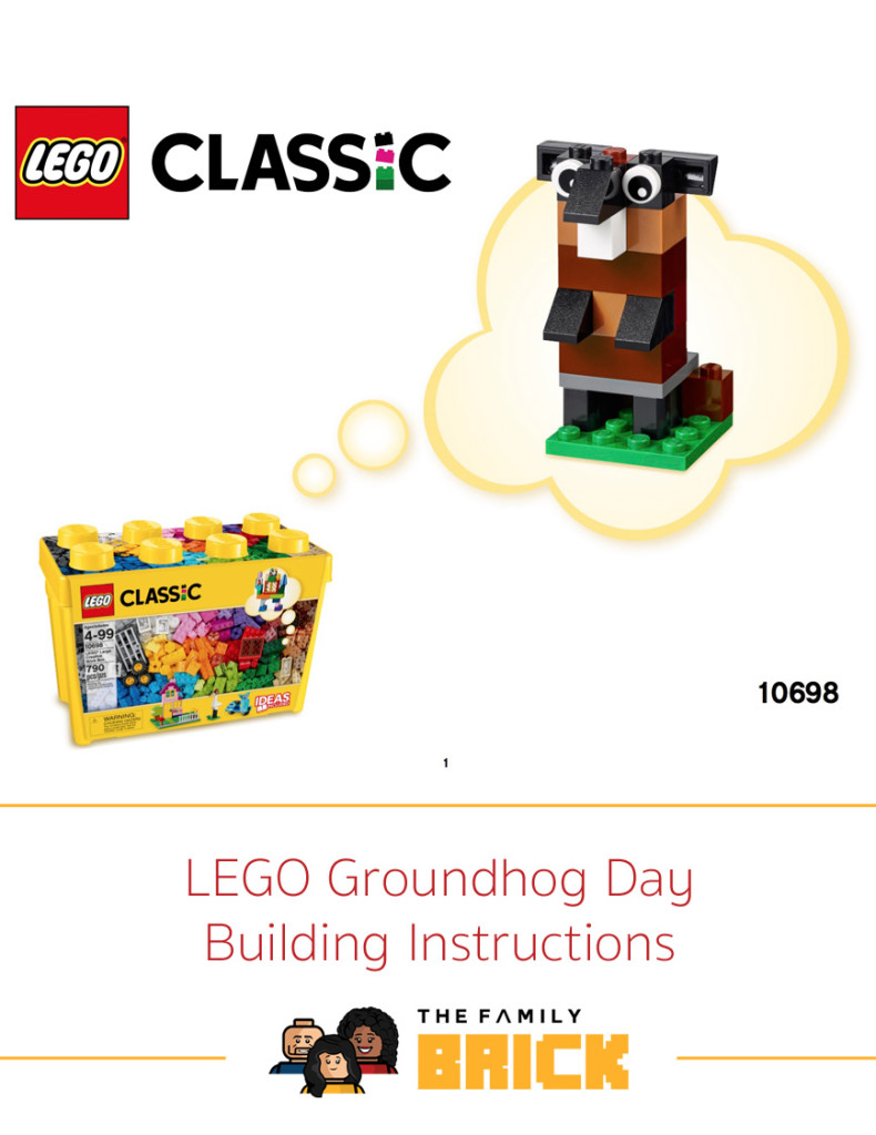 LEGO Groundhog Day Building Instructions